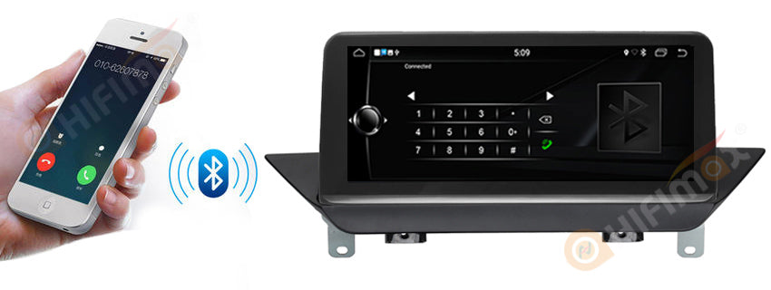 bmw x1 gps navigation support bluetooth hands free callings,safe driving
