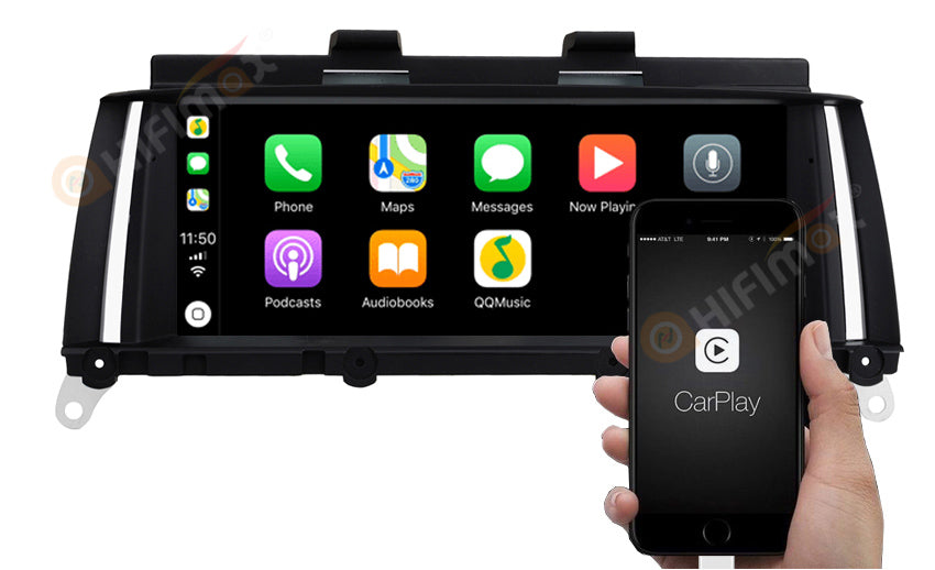 bmw x3 f25 x4 f26 android car stereo support carplay android auto