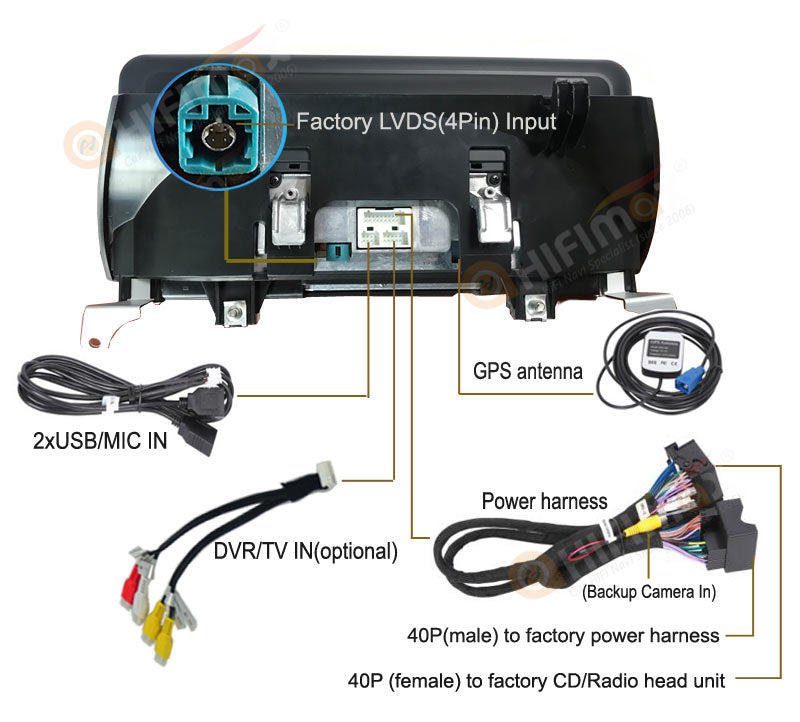 bmw x5 e70 x6 e71 navigation gps accessories and wire diagram