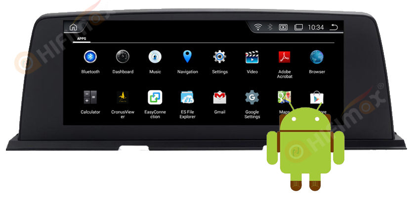 BMW 6 Series F06 F12 android navi gps head unit can install a lot of apps, 2/4gb ram 32g rom