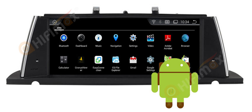 BMW 5 Series F07 GT android car stereo with 2gb/4gb RAM + 32G ROM