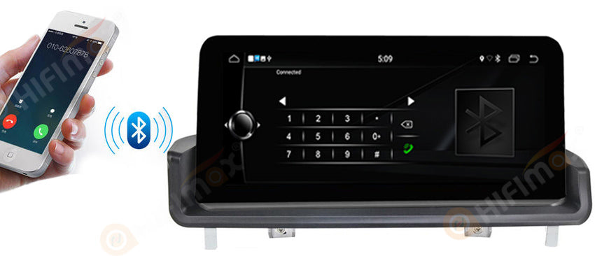 bmw e90 e91 e92 e93 car stereo gps player support bluetooth phone-book hands free callings
