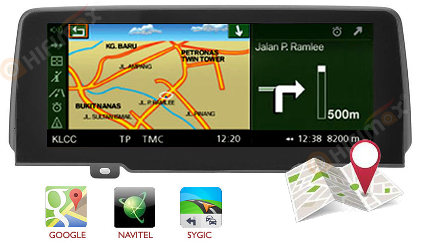 bmw x3 gps navigation support google map ,waze etc