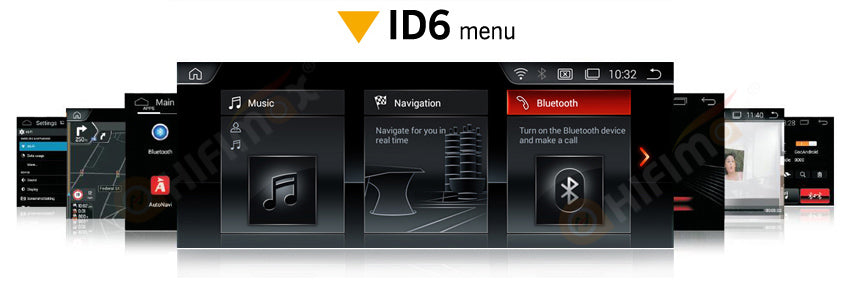 products ui-with bmw id6 menu style