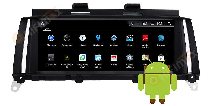 BMW X3 X4 Android GPS Navigation