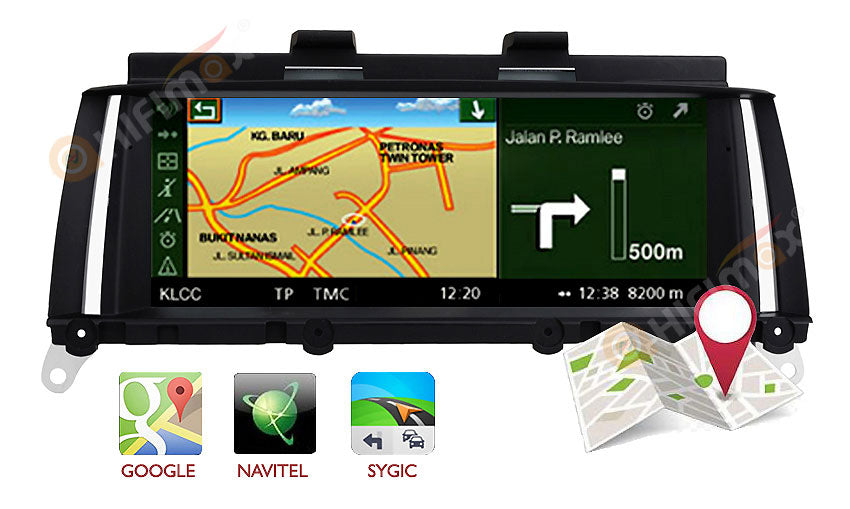 BMW X3 X4 Navigation GPS support IGO,Sygic,Google Map