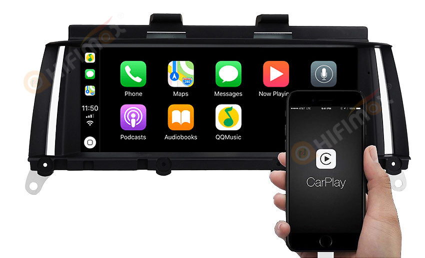BMW X3 X4 Navigation Support Apple Carplay