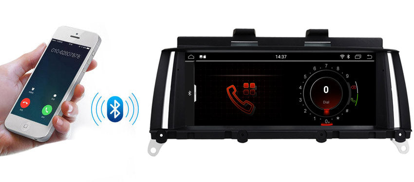 BMW X3 X4 Navigation Bluetooth function