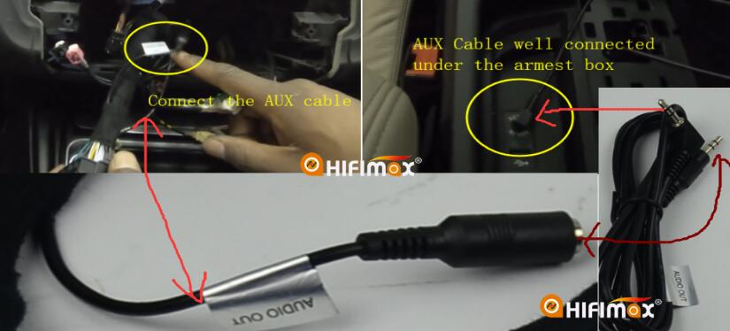 aux connection wire diagram