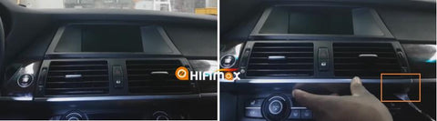 remove the vents for the bmw x5 x6