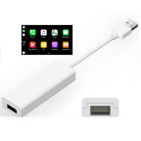external wire apple carplay dongle