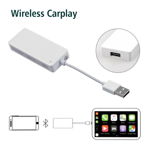 wireless apple carplay dongle support carplay android auto