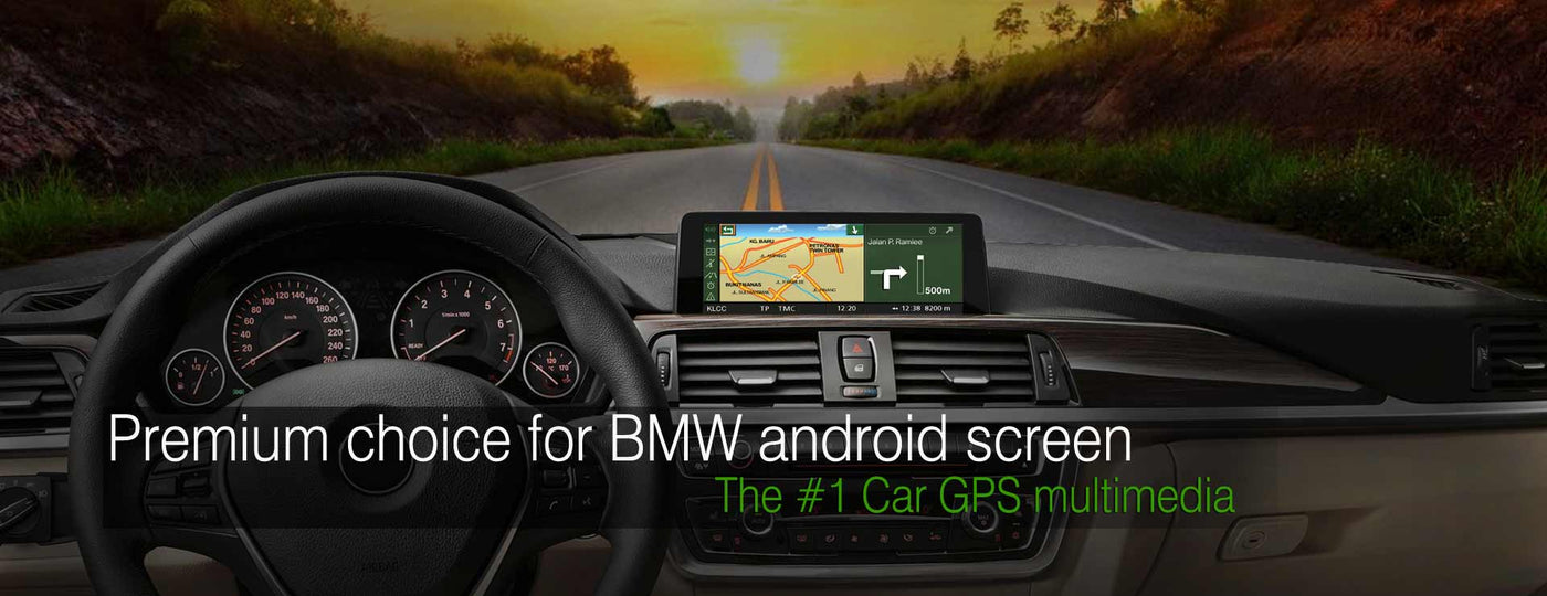 HIFIMAX BMW android navigation screen banner