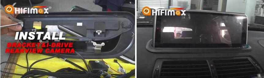 Installation bmw x5 e53 navigation -install the bracket