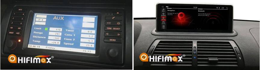 Installation bmw x5 e53 navigation - test the factory bmw x5 e53 functions