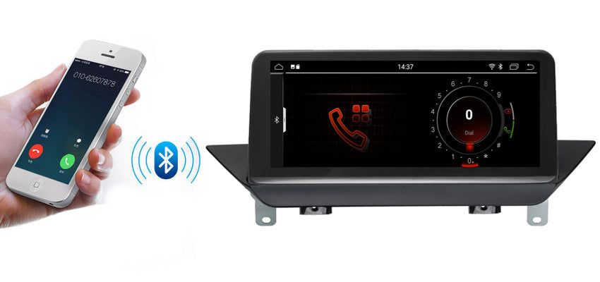 BMW X1 GPS Navigation with Bluetooth A2DP function
