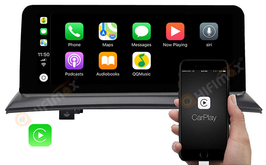bmw x3 e83 navigation support apple carplay