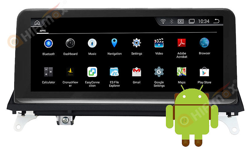 bmw x5 x6 navigation android os