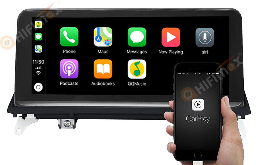 bmw x5 x6 navigation support apple carplay