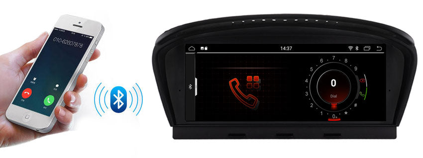 bmw 3/5 series navigation with bluetooth function,support phone-book