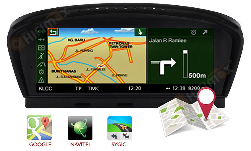 bmw 3/5 series navigation support igo,sygic,google map