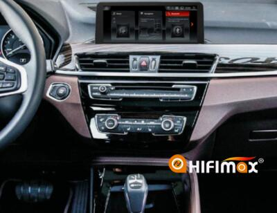 check the wire connections and recover the dashboard, the installation for bmw x1 navigation is finished