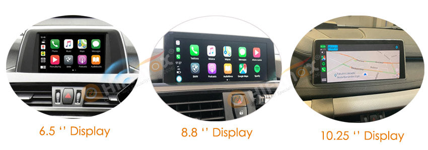 wireless carplay android auto compatible with BMW 6.5'',8.8'',10.25'' original display