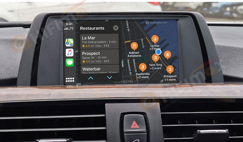 wireless carplay android auto support navigation