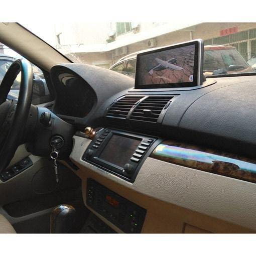 bmw x5 e53 navigation gps dashboard full view