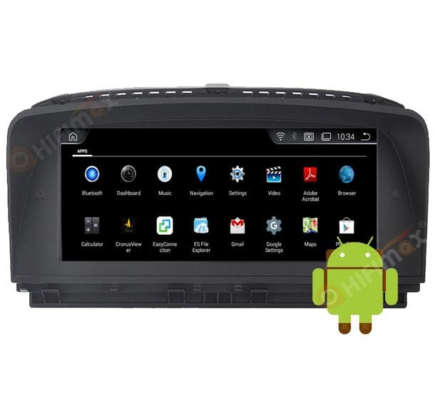 Android BMW 7 series Navigation can install multi apps