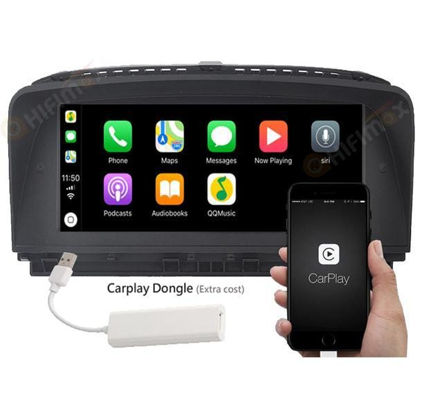 Android BMW 7 series Navi Head unit support carplay