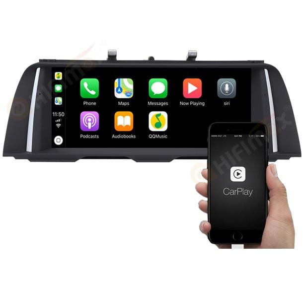 for bmw 10 f11 android navi head unit support carplay & android auto