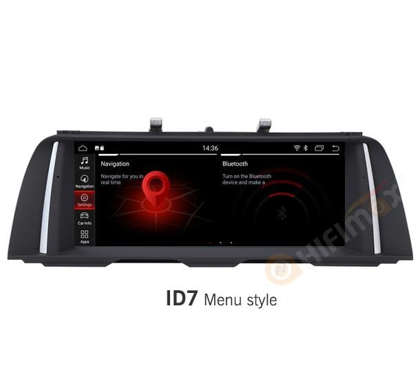 bmw f10 f11 navigation with id7 menu
