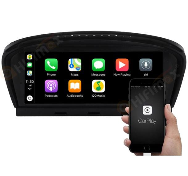 bmw e60 navigation support carplay android auto