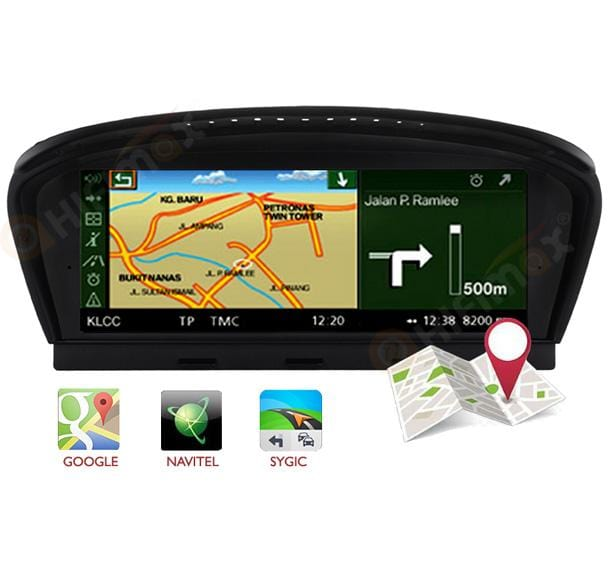 bmw e60 navigation support google waze and so on
