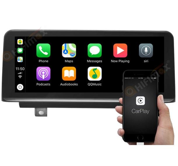 android car stereo support carplay - custom made for bmw only