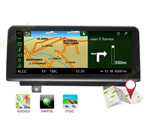 aftermarket bmw f20 f21 f23 car stereo gps system