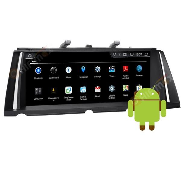 android bmw 7 series F01 F02 navigation install apps
