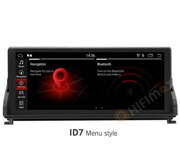 HIFIMAX BMW Z4 Navigation with id7 menu