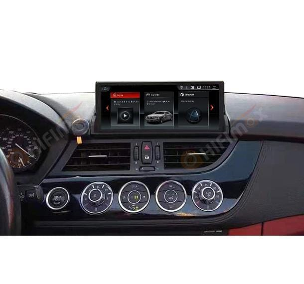 HIFIMAX aftermarket BMW Z4 Navigation installed in the car