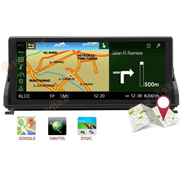 HIFIMAX bmw z4 navigation support google map, waze, igo etc
