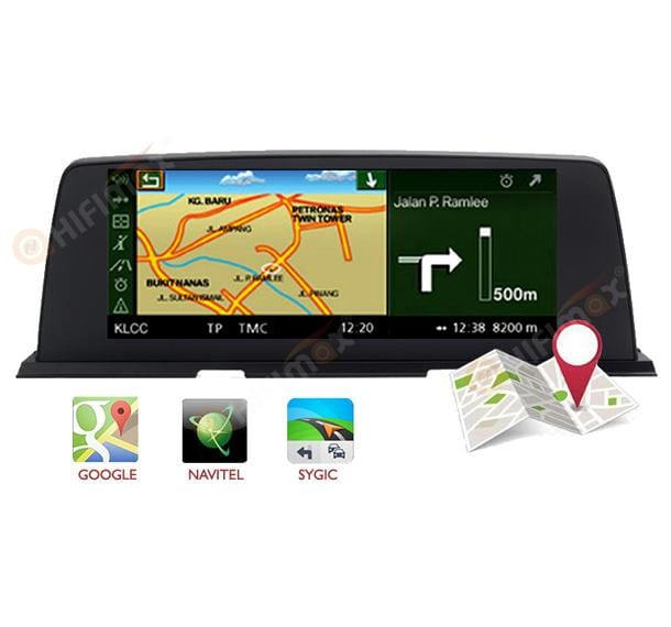 BMW 6 navigation gps support google map,waze,igo,navitel etc
