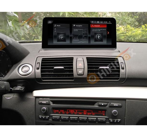aftermarket bmw e81 e82 e87 e88 navigation head unit