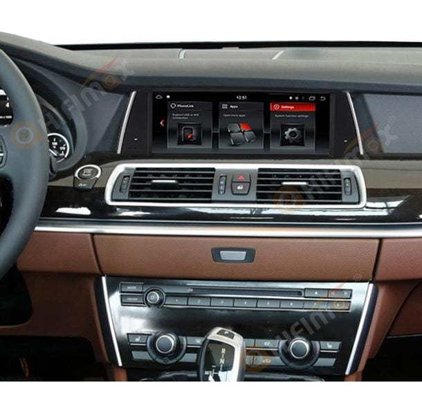 aftermarket BMW F07 GT autoradio gps navigation