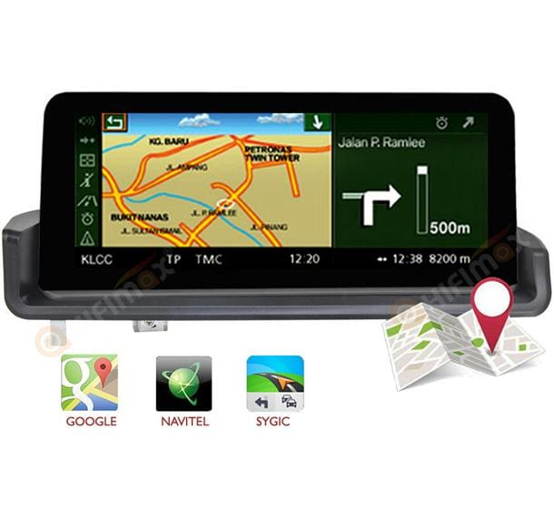 bmw e90 e91 e92 e93 gps navigation support google waze, igo etc