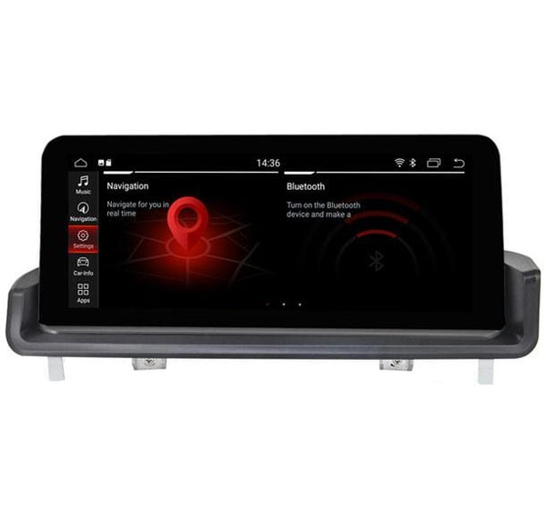 bmw e90 navigation head unit with id7 menu
