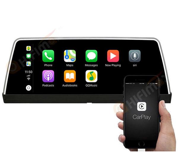BMW 7 series E65 E66 android navigation support Carplay