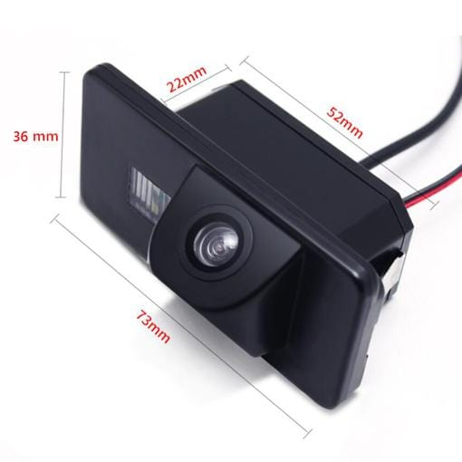 bmw camera with size information
