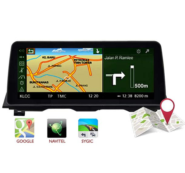 12.3 inch BMW 5 F10 F11 Android 10 navigation GPS screen 4GB+64GB support Carplay