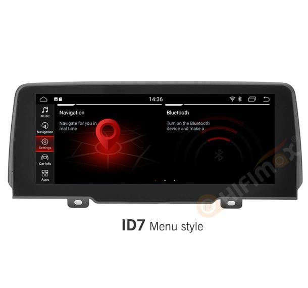 HIFIMAX BMW X3 2018 Navigation B523 with ID7 Menu